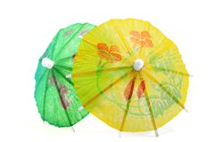 Cocktail Umbrella Series 04 Royalty Free Stock Photos