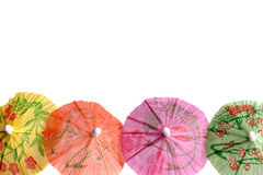 Cocktail umbrellas Royalty Free Stock Photos