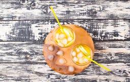 Cocktail van appel en een citroen Royalty-vrije Stock Foto