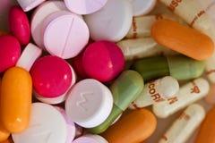 Cocktail van pillen Royalty-vrije Stock Fotografie