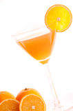 Cocktail van sinaasappel Stock Foto's