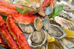 Cocktail van zeevruchten royalty-vrije stock foto's