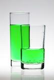 Cocktail verde Fotografia de Stock Royalty Free