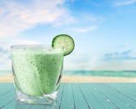 Cocktail verde Fotografia de Stock