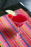 Cocktail vermelho Fotos de Stock