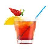Cocktail vermelho Imagens de Stock Royalty Free