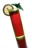 Cocktail vermelho Fotografia de Stock