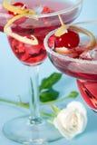 Cocktail vermelho da nuvem Imagem de Stock