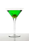 Cocktail vert Photographie stock