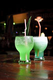 Cocktail vert Image stock