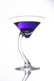 Cocktail viola Fotografia Stock Libera da Diritti