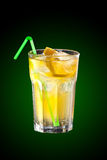 Cocktail with vodka and lemon juice. Delicious cocktail with Vodka and lemon juice Stock Photo