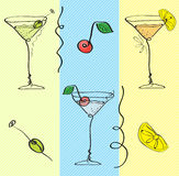 Cocktail wallpaper Royalty Free Stock Photography