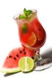 Cocktail - Watermeloen Caipirinha Royalty-vrije Stock Fotografie
