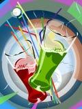 Cocktail wauw Stock Fotografie