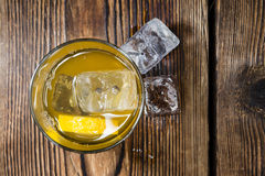 Cocktail (Whiskey Sour) Stock Photography