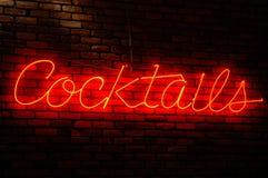 Cocktail-Zeichen Lizenzfreie Stockfotografie