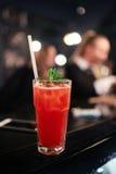 Cocktailbloody mary bij de bar Royalty-vrije Stock Afbeelding