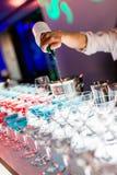 Cocktaildranken stock foto