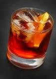 cocktaile的americano 图库摄影