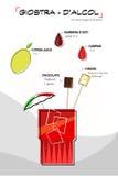 Cocktailfuturist vector illustratie