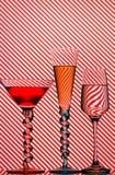 Cocktailgläser lizenzfreies stockbild