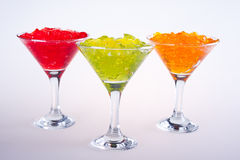 Cocktailglas Lizenzfreie Stockbilder
