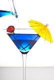 Cocktailglas stockfotos