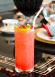 Cocktailglas Stockfoto