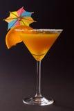 Cocktailglas Royalty-vrije Stock Fotografie
