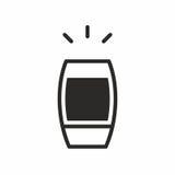 Cocktailikone Lizenzfreie Stockbilder