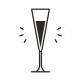 Cocktailikone Lizenzfreies Stockbild
