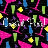 cocktailparty Royaltyfri Foto
