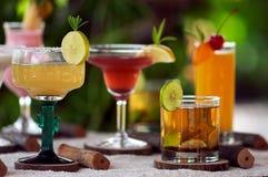 Cocktailparty Stockbild