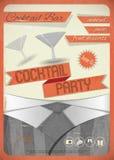 Cocktailparty Royaltyfri Fotografi