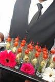 Cocktailpartynahrung Lizenzfreie Stockbilder