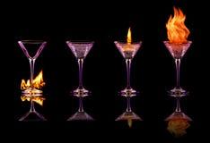 Cocktailreeks vector illustratie