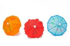 Cocktailregenschirme Stockbild