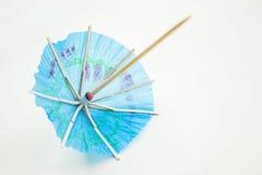 Cocktailregenschirme Stockfotografie