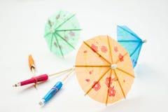 Cocktailregenschirme Stockbilder
