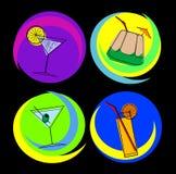 Cocktails 02 Photographie stock libre de droits