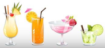 cocktails 免版税库存图片