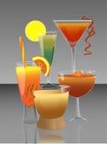 Cocktails lizenzfreie abbildung