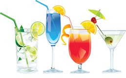 Cocktails Royalty Free Stock Images