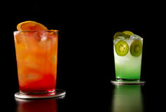 Cocktails Lizenzfreie Stockfotos