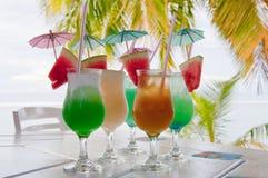 Cocktails stock afbeelding