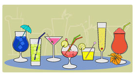 Cocktails 20 Royalty Free Stock Photography