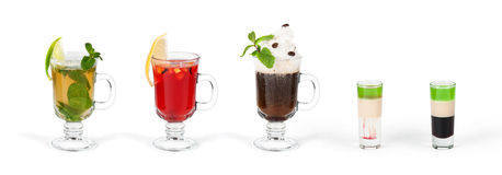 Cocktails images stock