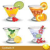 Cocktails 3 Stock Photography