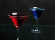 Cocktails Photographie stock libre de droits
